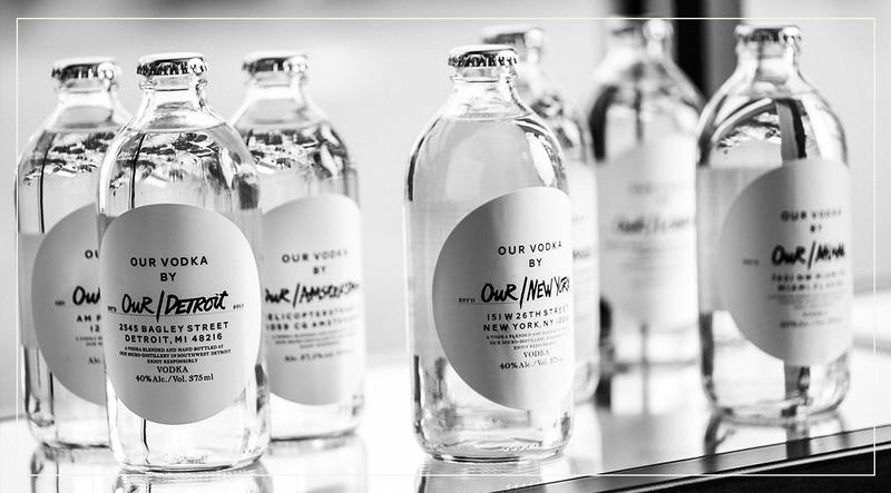 World's first global and local vodka