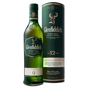 Glenfiddich 12 YO Single Malt 0.70L GB